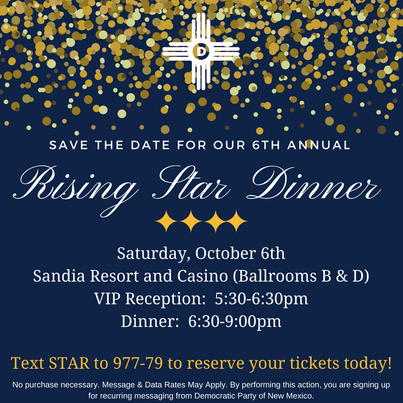 Rising Star Dinner @ Sandia Resort and Casino | Albuquerque | New Mexico | United States