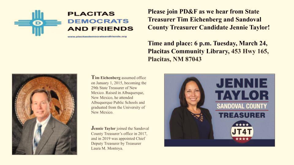 Placitas Dems and Friends Meeting @ Placitas Library | Placitas | New Mexico | United States