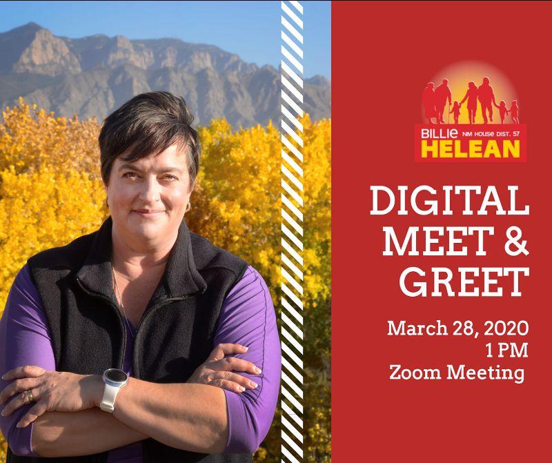 Billie Helean Digital Meet and Greet