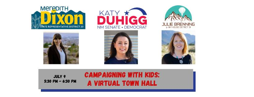 Campaigning With Kids: A Virtual Town Hall