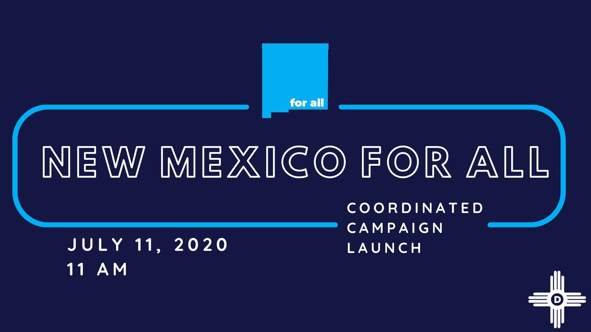 """2020 """"New Mexico For All"""" Launch"""