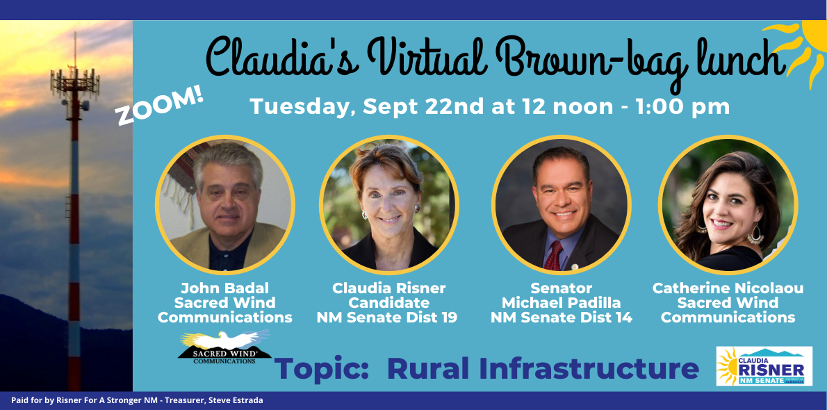 Claudia's Brown-bag Lunch- Rural Infrastructure in NM