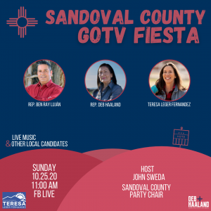 Sandoval County GOTV Fiesta